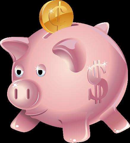 My piggy . Bank clipart pig