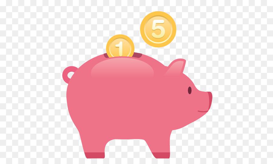 Saving piggy money credit. Bank clipart pig