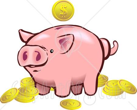 Bank clipart savings bank. Broken piggy panda free