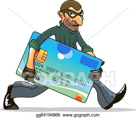 Vector art hacker or. Burglar clipart stole