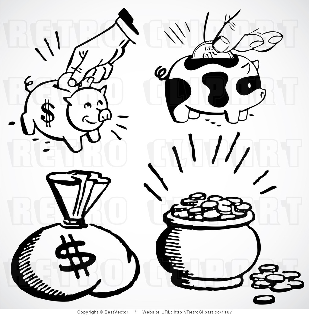 Bank clipart sketch. Piggy drawing at getdrawings