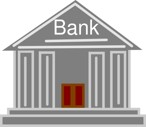 House clipart kid. Bank icon clip art