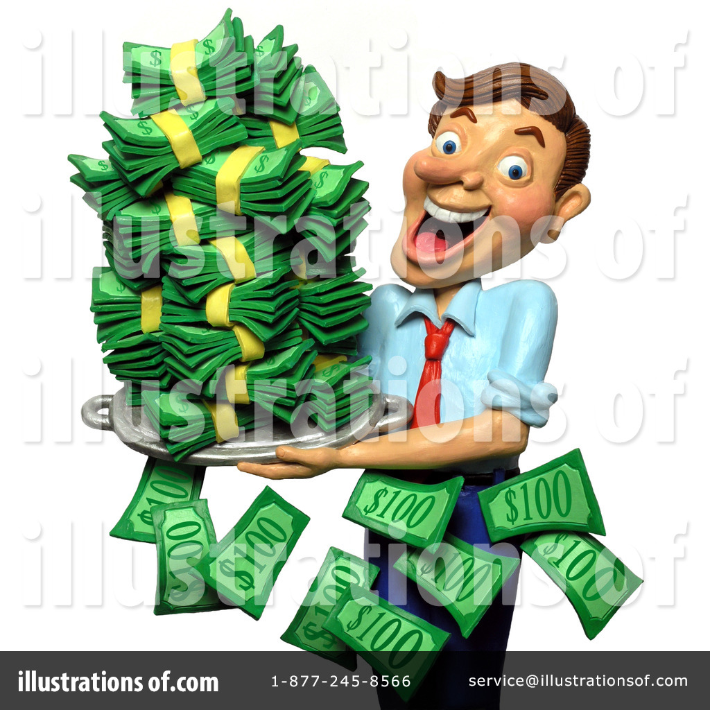 Banker royalty free rf. Finance clipart