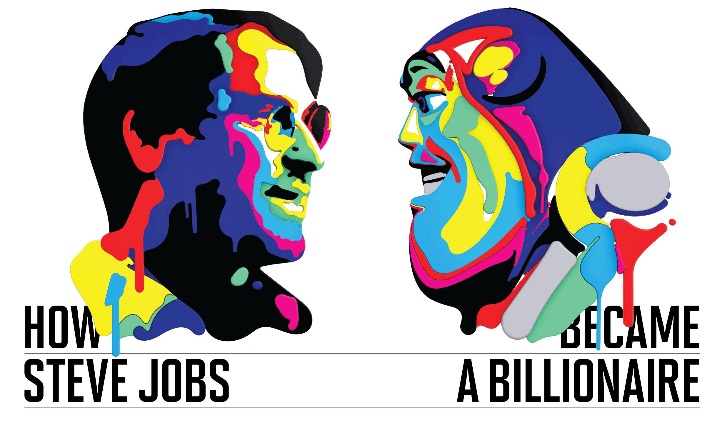 Banker clipart billionaire. How steve jobs became