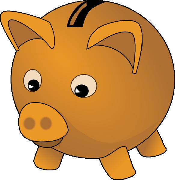 Piggy bank clip art. Money clipart banking