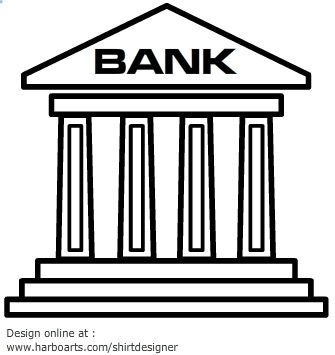 Banking clip art free. Bank clipart