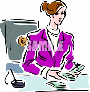 Banker clipart female. Women pencil and in