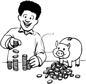 Banker clipart money. Panda free images bankerclipart