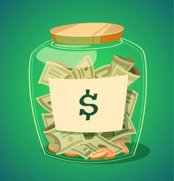 Bank jokingart com. Banker clipart money