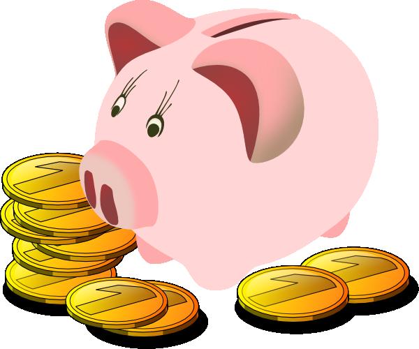 Banker clipart money. Free piggy bank download