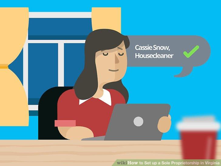 Banker clipart sole proprietorship. How to set up