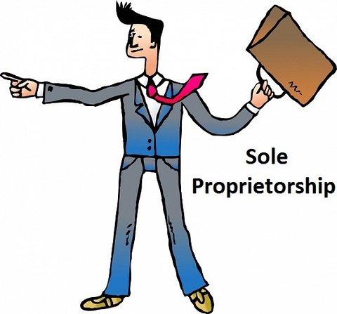 Banker clipart sole proprietorship. How to start and