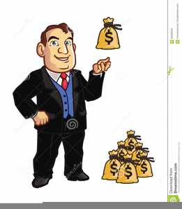 Banker clipart stingy person. Free images at clker