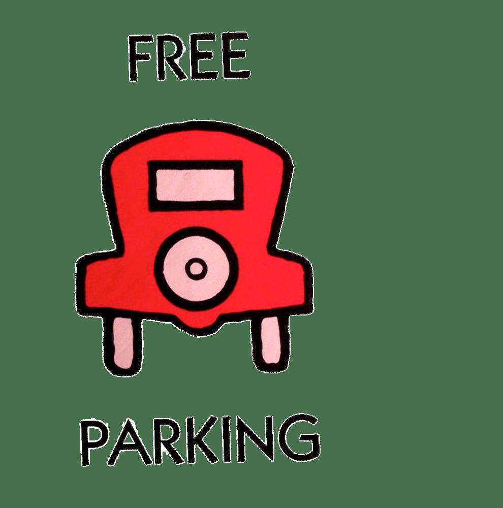 Free parking transparent png. Crime clipart monopoly jail