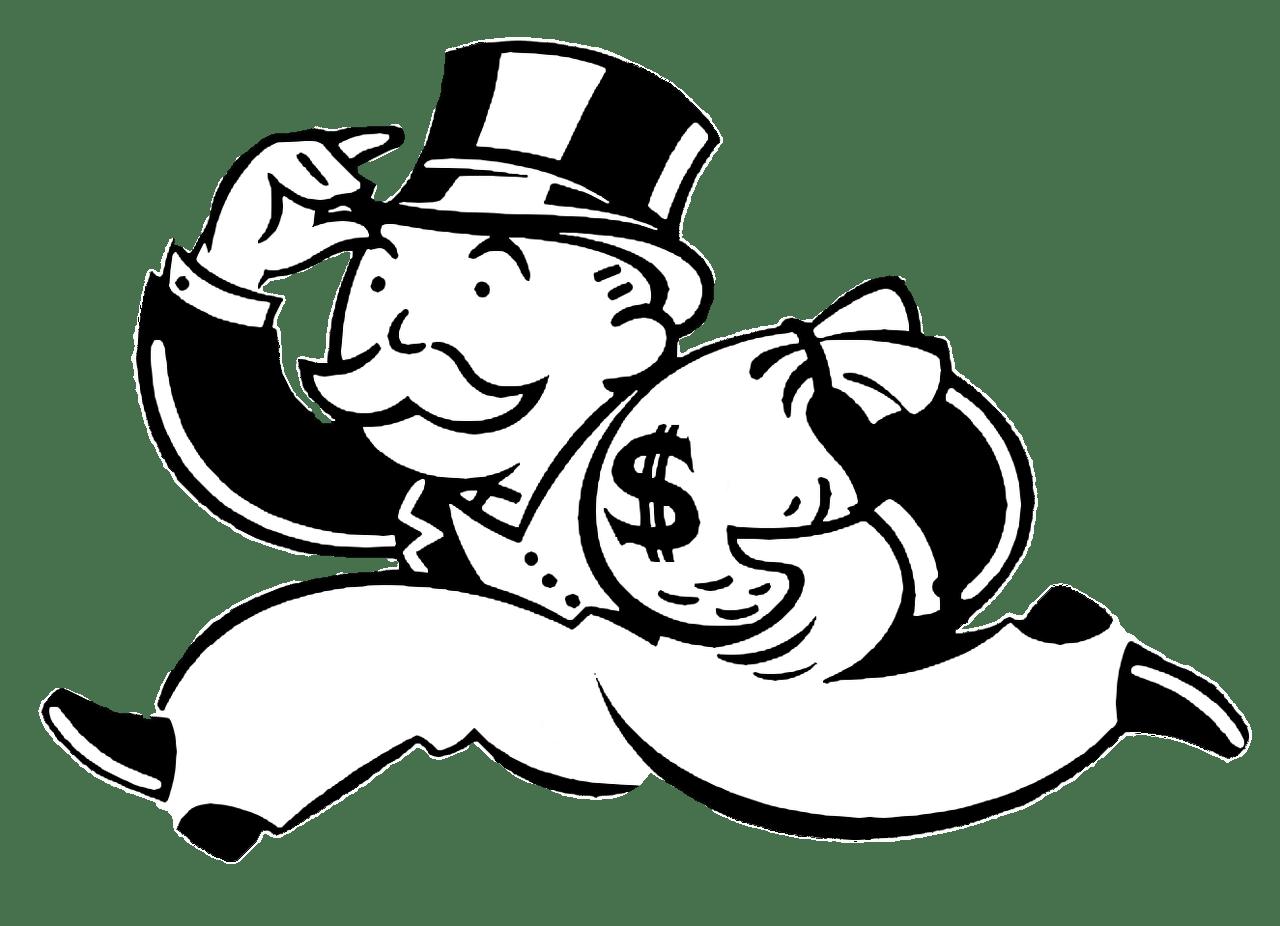 Jail clipart monopoly economics. Banker transparent png stickpng