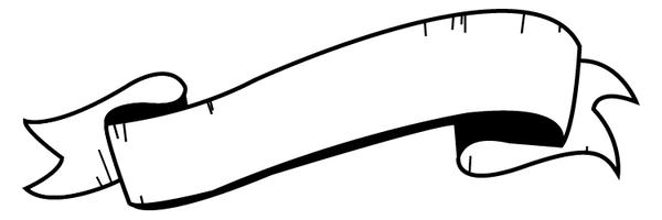 Banner clip art. Clipart blank scroll banners