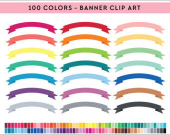 Clipart etsy . Banner clip art