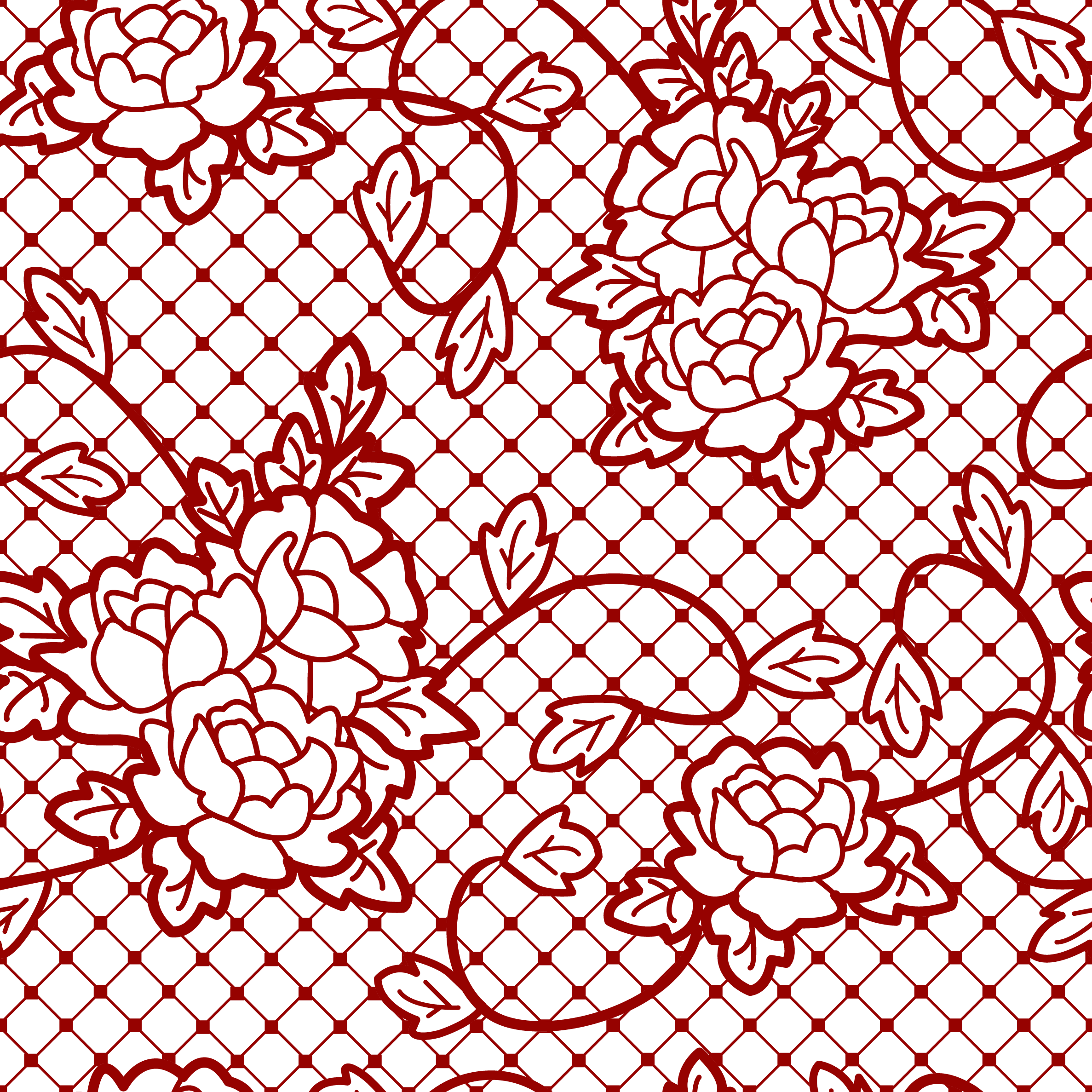Transparent decorative with roses. Clipart rose lace