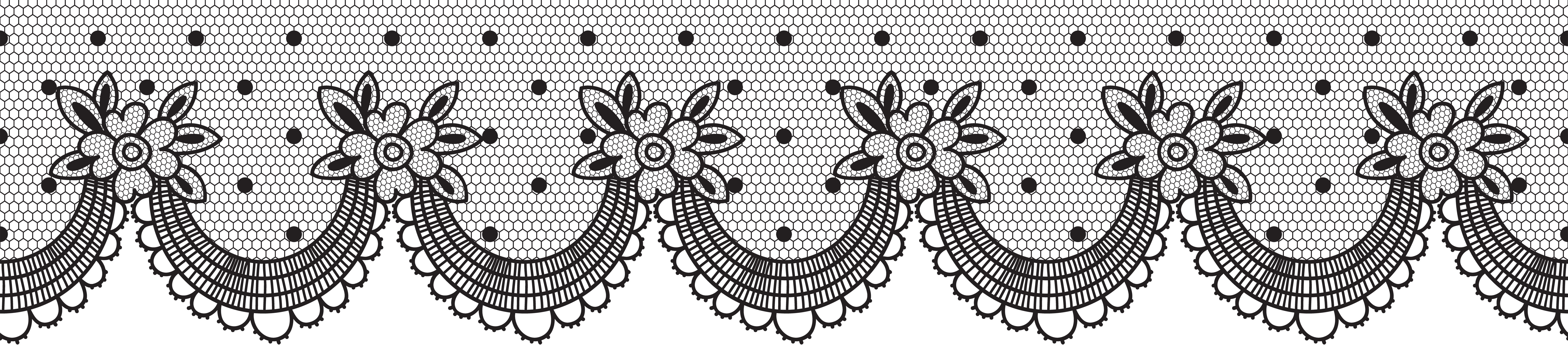 lace clipart scroll