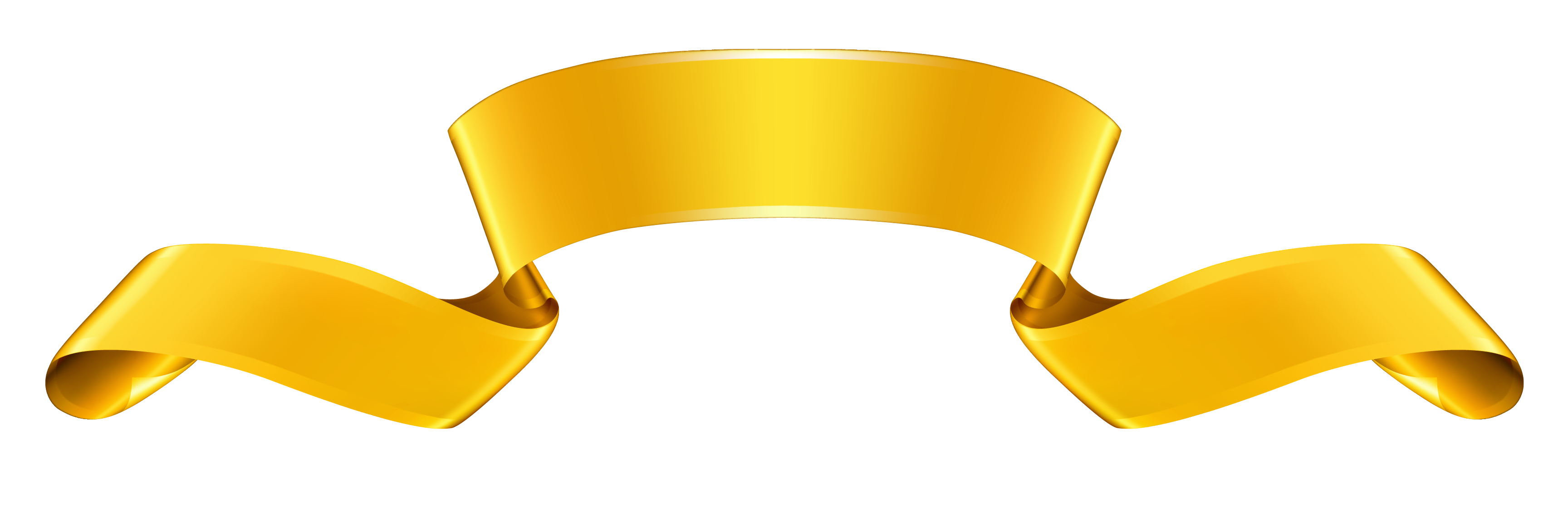 Dust clipart gold. Ribbon banner