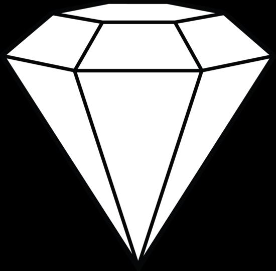Diamond line art shape. Diamonds clipart sketch