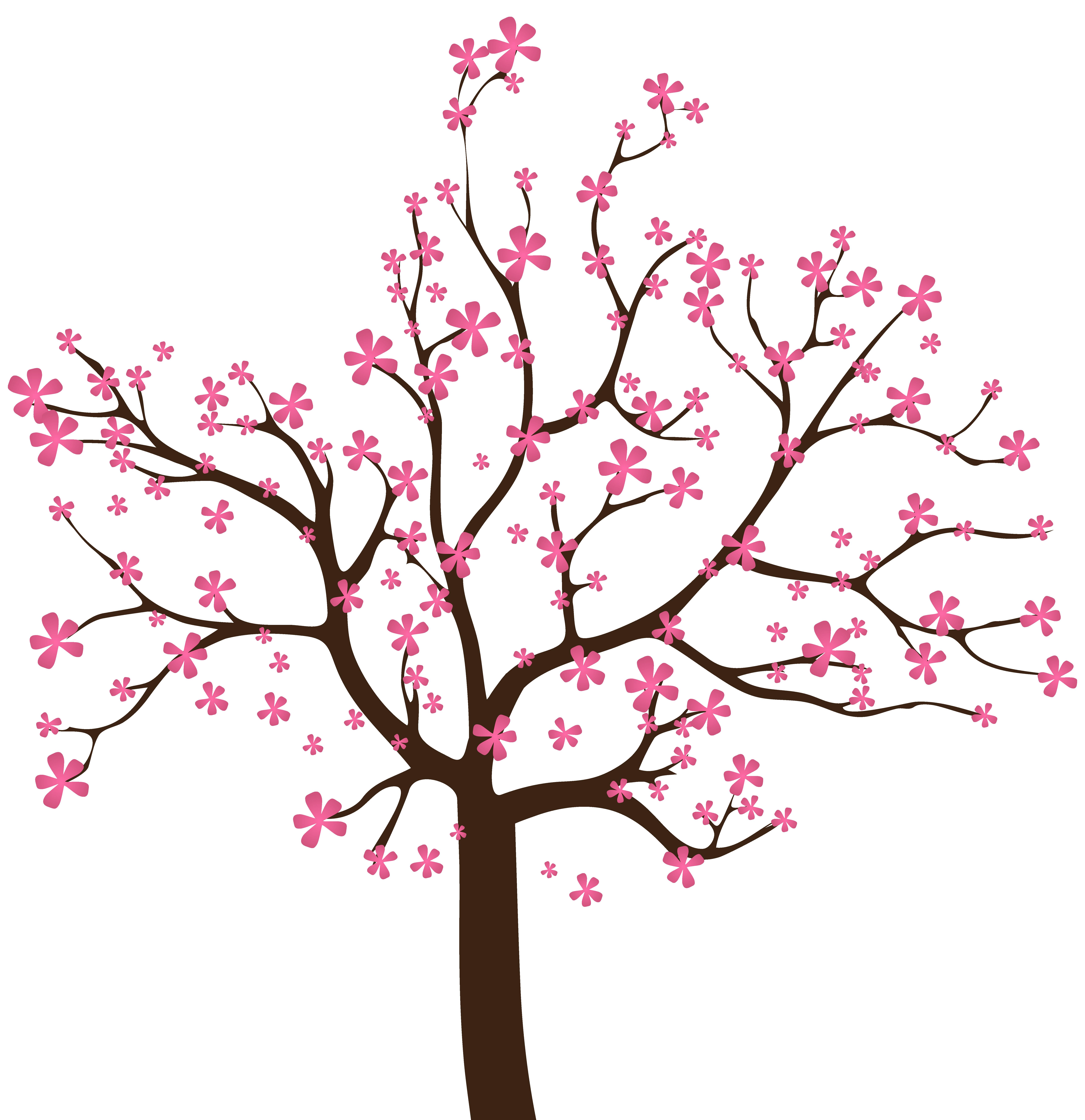Clipart tree season. Spring png clip art