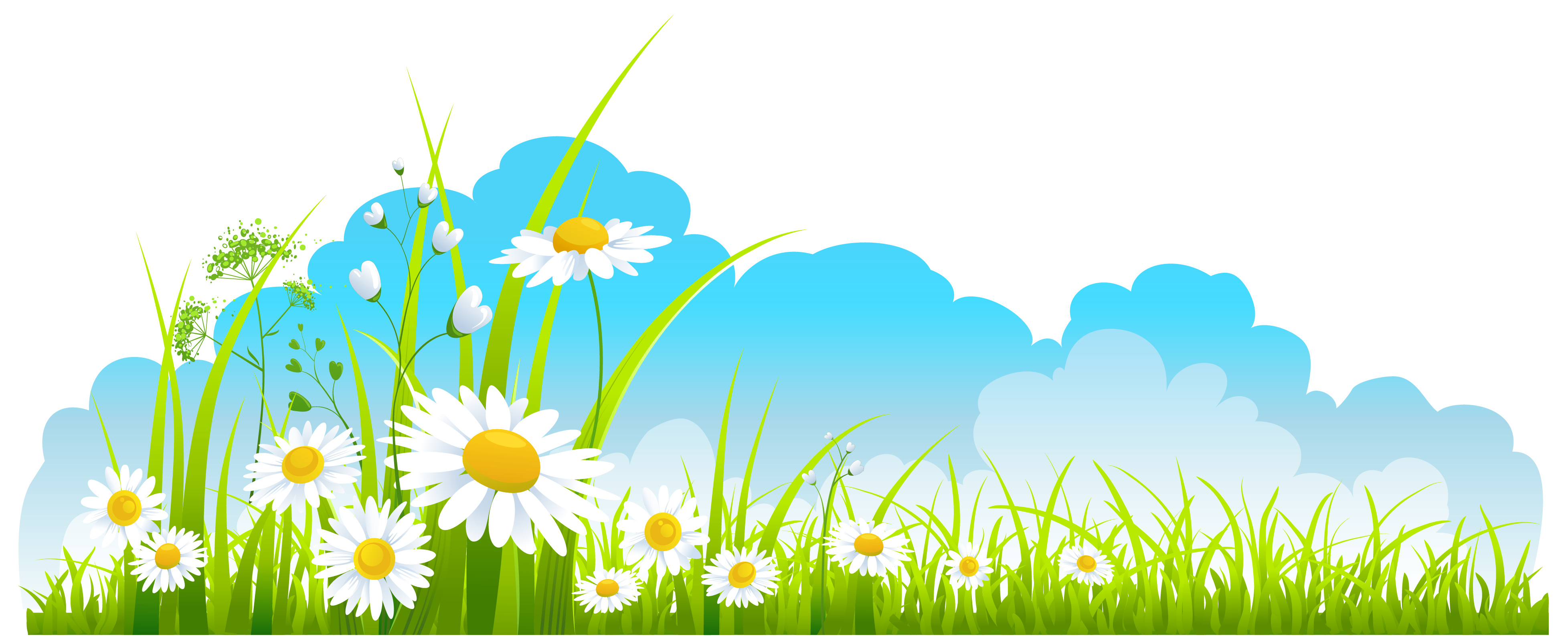 Clipart children nature. Spring season png clipartuse