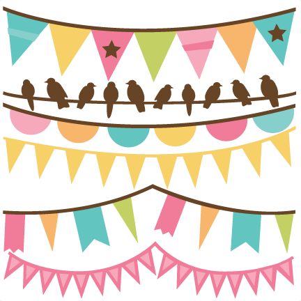 Freebie of the day. Banner clip art spring