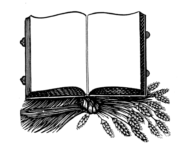 book blank victorian. Steampunk clipart banner