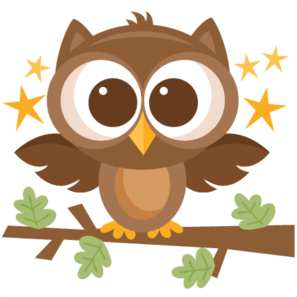 Banner clip art woodland. Owl svg scrapbook cut