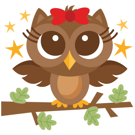 Owl svg scrapbook cut. Banner clip art woodland