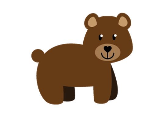 Grizzly clipart pencil and. Banner clip art woodland