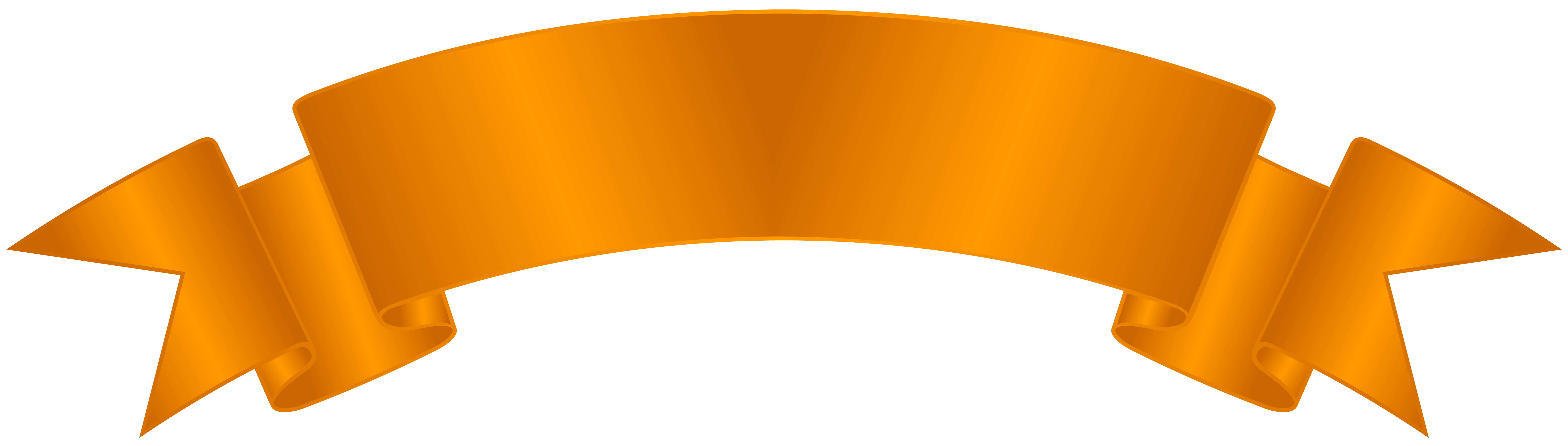 Orange clip art png. Pencil clipart banner
