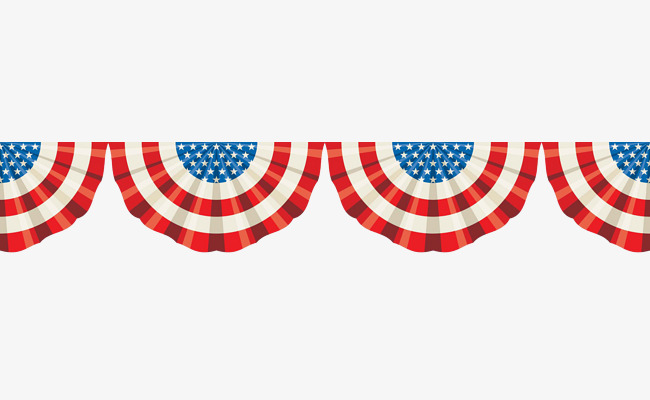 Banners clipart american flag. Semicircular banner creatives png
