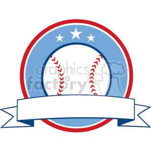 Award clipart baseball. Royalty free ribbon banner