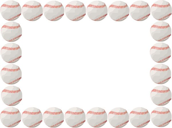 Free download clip art. Baseball clipart border
