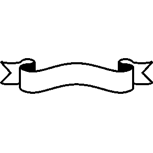 Free ribbon cliparts download. Banners clipart border
