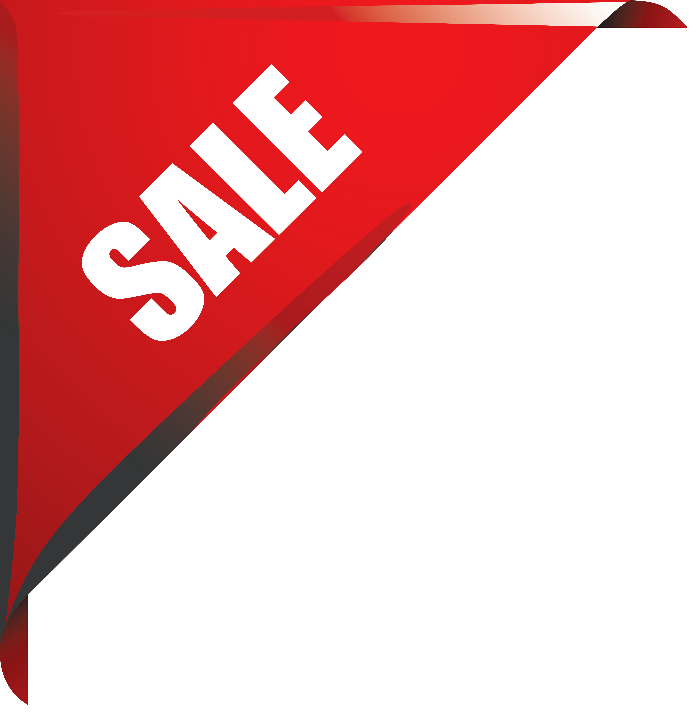 Banner clipart corner. Sale sticker png image