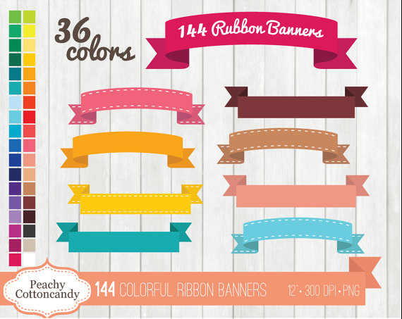 Buy get free colorful. Banners clipart cute