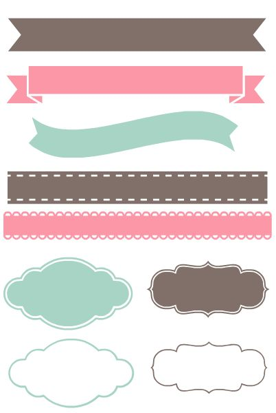 Banners clipart cute. Free banner png download