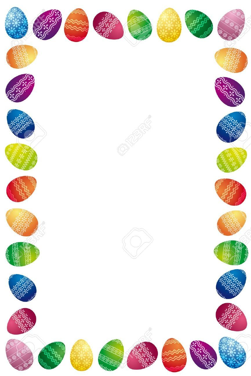 awesome border images. Boarder clipart easter egg