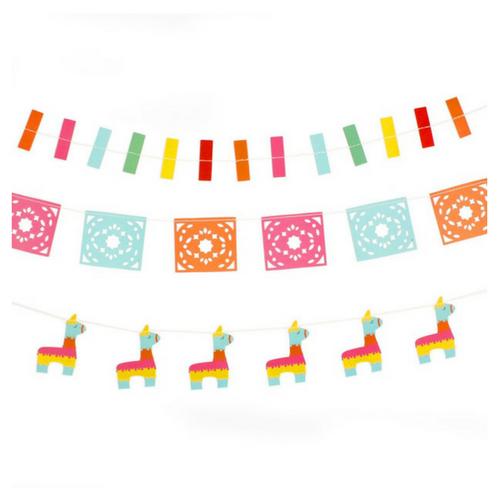 Mini banner jollity co. Banners clipart fiesta