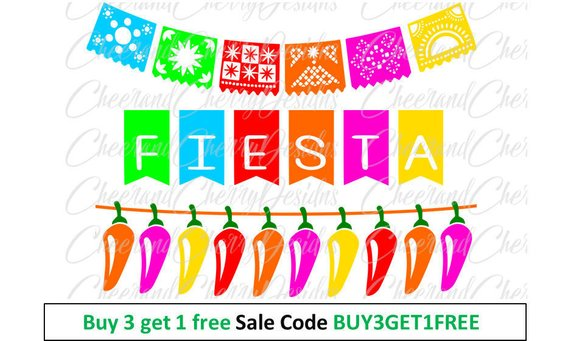 Banners clipart fiesta.  off sale party