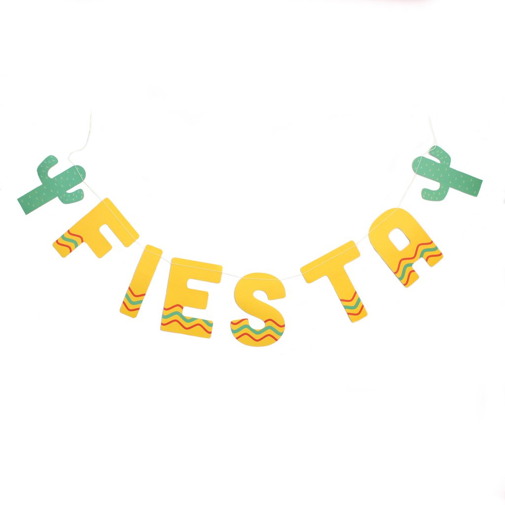 Banner clipart fiesta. Paper love my mind