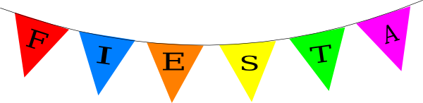 Banners clipart fiesta. Panda free images bannerclipartpng