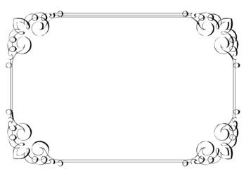 Free frame cliparts download. Filigree clipart filigree square