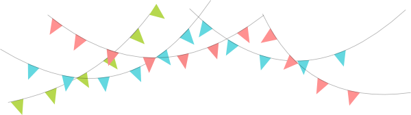 Banner clipart flag. Triangle lacalabaza png transparent