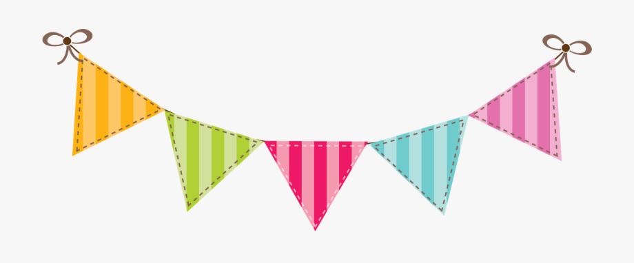 Banner clipart flag. Happy birthday clip art