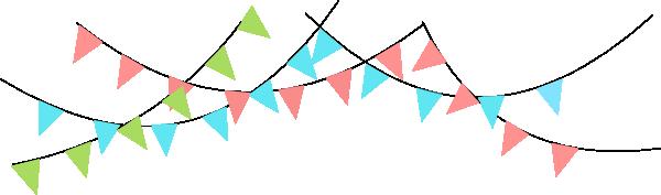 Triangle panda free . Banner clipart flag