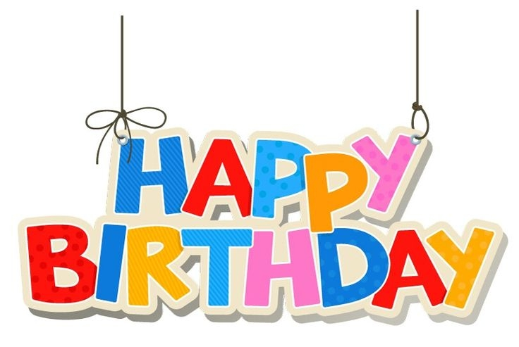 World . Banner clipart happy birthday